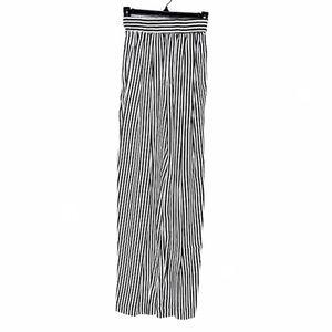 Vintage Karen Cane Referee Stripe Pants B&W 6
